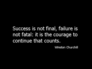 Success is not final.